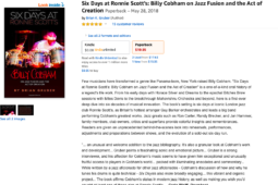 """Six Days at Ronnie Scott's"" Continues To Get All 5-Star Ratings on Amazon"