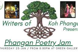 Phangan Poetry Jam Slated for 23 January